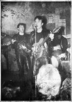 The Beatles in the Cavern 1962 by BigA-nt