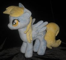 My Little Pony Derpy Plushie #2 by WhiteHeather