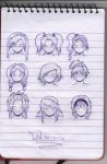 anime hairstyles by petmonkey0