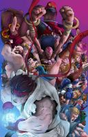 Street Fighter IV by KangShon