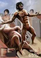 Eren Full Fight!! by EzaRock
