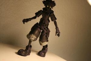 Anti Sora Action Figure by chickeybaby777