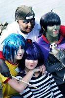 GoRiLLaZ Cosplay 207 Group by Hikarulein