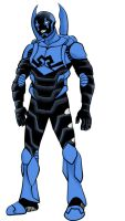 Blue Beetle by whitembers