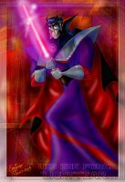 Emperor Zurg with lightsaber by zorm