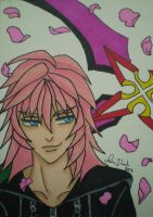 Marluxia ACEO Comission by LadyNin-Chan