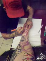 me free handing by Victimizedta2z