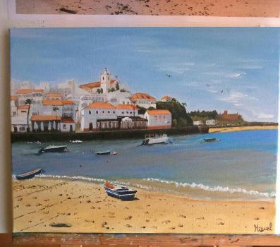 [sold] Ferragudo, Algarve by miguelAGS