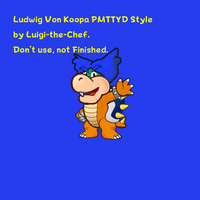 Paper Mario Styled Ludwig by Luigi-the-Chef