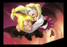 FMA: Sacred Star of Milos: EdWin moment ^^ by Sofie3387