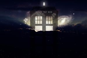 Birth of the Tardis by Kaddastrophic