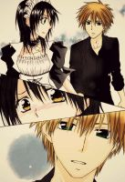 Usui and Misaki by zechan1