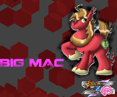SFxMLP Big Mac wallpaper by CrossoverGamer