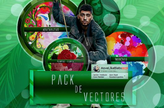 +Pack de Vectores 02 by MoveLikeBiebs
