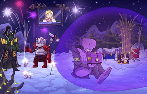 Christmas Event picture 4 - Gifts in Chronosphere by keterok