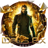 Deus Ex Human Revolution Icon by OutlawNinja
