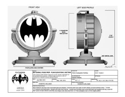 THE BAT SIGNAL STAGE PROP by darklord1967