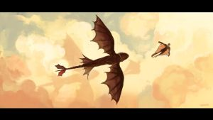 How to train your dragon2 by sin213yee