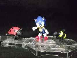 Sonic The Hedgehogs battle of bots! by forever-at-peace
