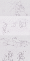 Sketchdump August and September 2014 by someoneabletofindana