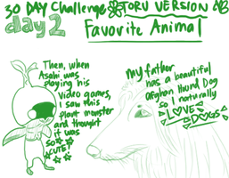 30 Day Challenge: Day 2 by se-rah