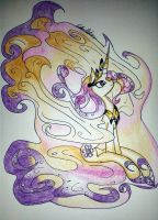 Queen Galaxia by MizuLela