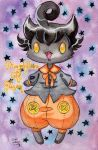 Pumpkaboo Baby by spiderliing666