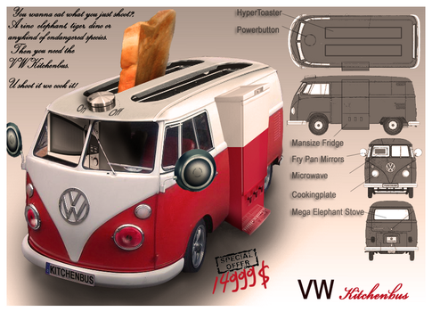 VW Kitchenbus by SanchoPancho