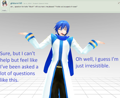 Question 9 for Kaito by LegolasGimli