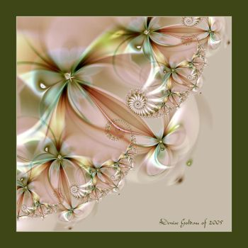 Spiraled Flowers - Extract by denise-g
