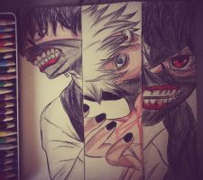 tokyo ghoul by alenwn