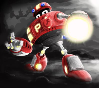 P-Bot's Wrath by mohka
