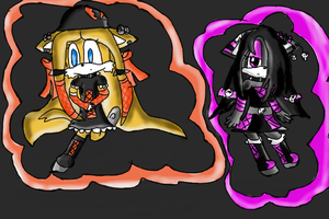 .:Chibi Nightmare:. contest by Onyx-the-fox