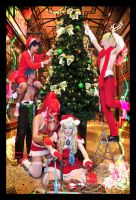 Gurren Lagann Christmas - 02 - Colour of Christmas by mangalphantom