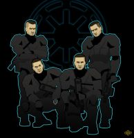 Republic Commandos Omega Squad by flashmcgee