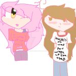 Me And Gabbs  by RedIshTomboy