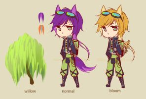 Plant Puff: Wolf Willow Auction [CLOSED] by niaro