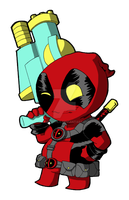 Lil Deadpool V2 by RadPencils