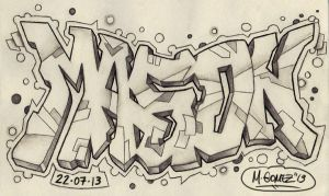 Mason Graff Name by Insanemoe