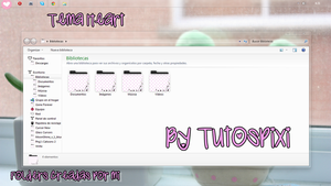 Tema Iconpackager Heart love by TutosPixi