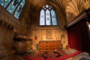 Wells Cathedral through a fisheye by CharmingPhotography