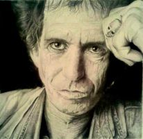 Keith richards by stevenbeattie