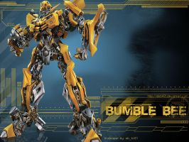 AutoBot: Bumble Bee Wallpaper by ab6421