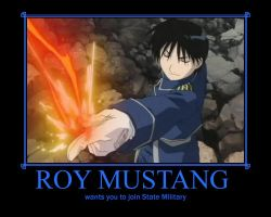 Roy Mustang by deathgirl88