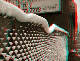 We Buy Gold - Anaglyph by Temphis