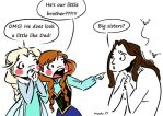 Princesses Ana and Elsa have a brother by mashi