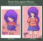 9/12 - 2/13 Before ~ After. by PyoPop