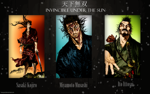 Vagabond Wallpaper - Invincible under the sun by Harque