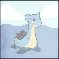 lapras by Ryanners
