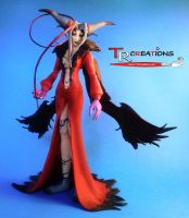 Final Fantasy VIII Ultimecia Play Arts figure by zelu1984